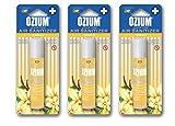 ozium air freshener vanilla - Ozium 500 .8 Ounce 6 pack 6 Scent Variety One of Each kind (3 pack, Vanilla)