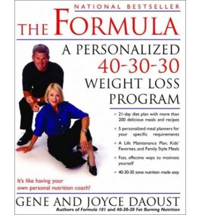 The Formula: A Personalized 40-30-30 Fat-Burning Nutrition Program (Soft Formula)