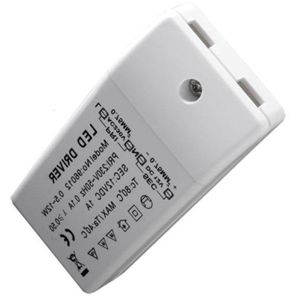 Ecloud Shop 2 pieces TRANSFORMADOR SMD LED 220V A 12V PA LÄ AMPARA MR16 MR11 YBU25*2