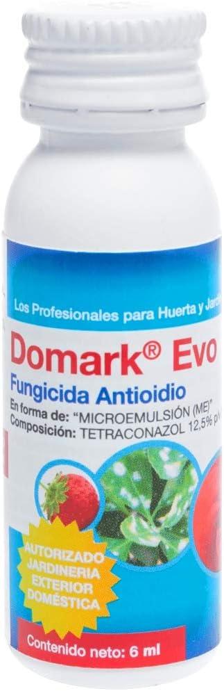 Sipcam Jardín SIPC0007 Domark EVO 10 ml (Fungicida Antioidio) Tetraconazol 12.5% p/v