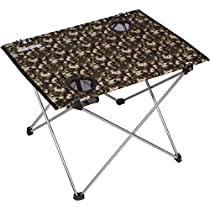 Trekology Foldable Camping Picnic Tables - Portable Compact Lightweight Folding Roll-up Table in a Bag - Small, Light, and Easy to Carry for Camp, Beach, Outdoor