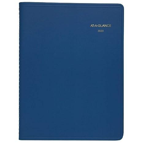Amazon.com: at-A-Glance 2020 - Agenda semanal/libro de citas ...