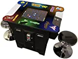 ToTeM Cocktail Arcade Machine 412 Games Commercial Grade Free STOOLS