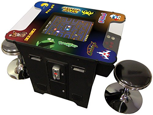 Cocktail Arcade Machine 412 Games Commercial Grade FREE STOOLS
