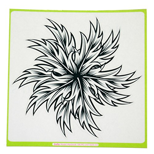 Moderne Blumen-Vinyl-Aufkleber-Haut-Abziehbild-Abdeckung Laptop Skin fŸr Apple MacBook Air Pro hFt4r21yJ