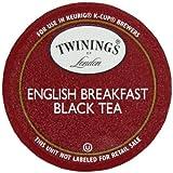 Twinings English Breakfast Tea, K-Cups for Keurig Brewers