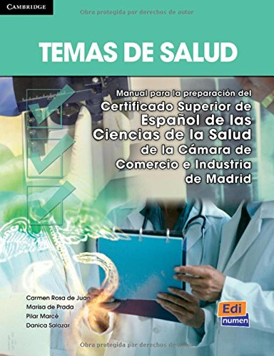 Temas de salud (Espanol fines especificos/ Spanish Specific Purposes) (Spanish Edition)