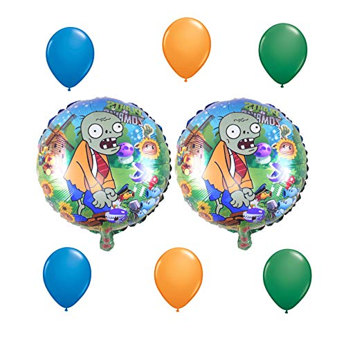 8 Piece Plants Vs Zombies Balloon -