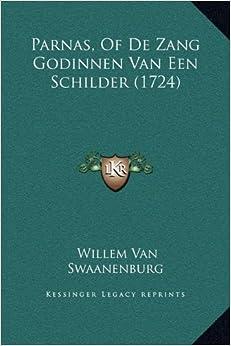 Book Parnas, of de Zang Godinnen Van Een Schilder (1724)