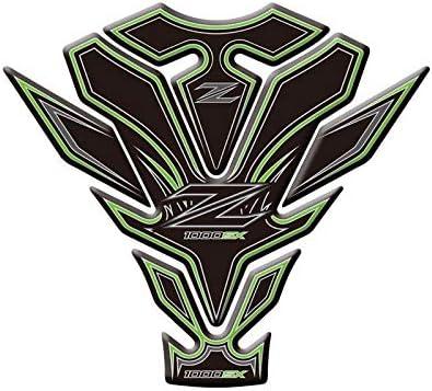 Color : 4 Anhuidsb Motorrad-Aufkleber-Abziehbild-Emblem Schutz Tankpad Cas for Kawasaki Z1000SX 2017 2018 Protective Abziehbilder