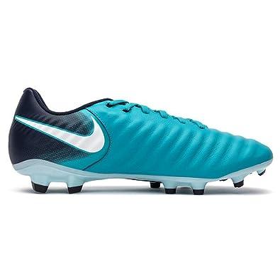 Nike Tiempo Ligera IV FG, Chaussures de Football Hommes, Turquoise (Bleu Gamma/Obsidienne/Bleu Bleu Glacier/Blanc 414), 47 EU