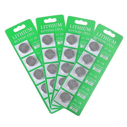 MineTom LED -1 Lot of 20 CR2032 3 Volt Lithium Button Cel...
