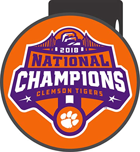 - Clemson Tigers 2018 National Champions Hitch Cover