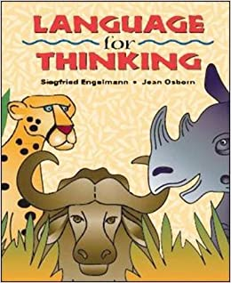 Language for Thinking - Student Picture Book by Siegfried Engelmann (2001-08-01)