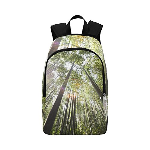 a3fb65054764 YUMOING Bamboo Damyang Sunshine Unique Custom Outdoor Shoulders Bag Fabric  Backpack Multipurpose Daypacks For Adult
