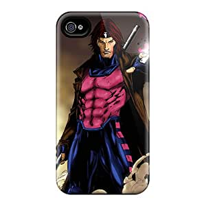 JasonPelletier Iphone 4/4s Durable Hard Phone Covers Support Personal Customs Realistic Gambit I4 Skin [sRX14227YACl]