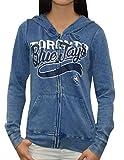TOR BLUE JAYS - Team Logo Womens Athletic Zip-Up Warm Hoodie / Jakcet