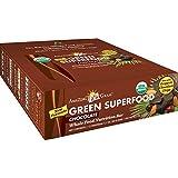 Amazing Grass Organic Chocolate Green SuperFood Whole Food Energy Bar, 12-Count Box