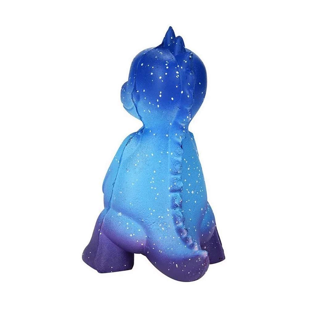 Kawaii Stars Dinosaur and Seahorse 2 Pack Squishy Slow Rising Sweet Scented Kid Toy Hand Toy Decorative Props Doll Gift Fun Large iFun iCool Stress Relief Toy