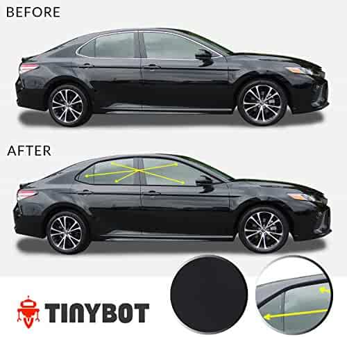 Momoap//ABS Chrome Car Rear Tail Light Cover Bezel Molding Trim Strip for Honda Civic Sedan 2016 2017 2018 2019