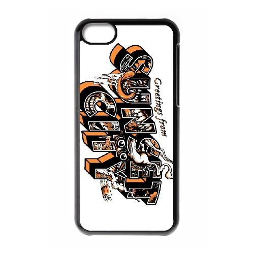 Sunset Overdrive 19 coque iPhone 5c cellulaire cas coque de téléphone cas téléphone cellulaire noir couvercle EEECBCAAN05903