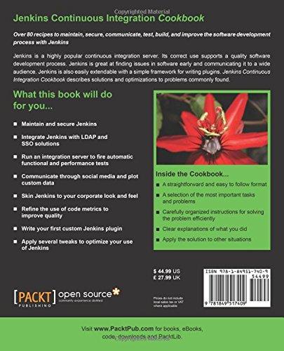 Amazon Fr Jenkins Continuous Integration Cookbook Alan Mark Berg