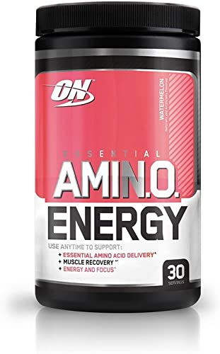 Optimum Nutrition Amino Energy, Watermelon, – 30 Servings 9.5 oz 270gm