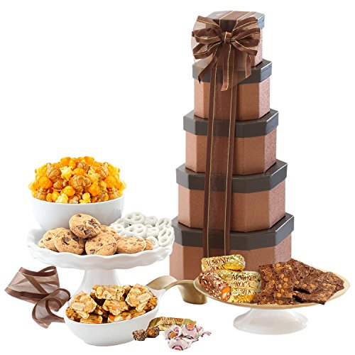 Sympathy Gift Basket of Sweets