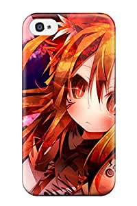 Leslie Hardy Farr's Shop 7861172K407269903 red night stars moon ribbons Anime Pop Culture Hard Plastic iPhone 4/4s cases