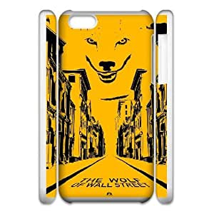 Special Design Cases iphone6 Plus 5.5 3D Cell Phone Case White The Wolf of Wall Street Zigep Durable Rubber Cover