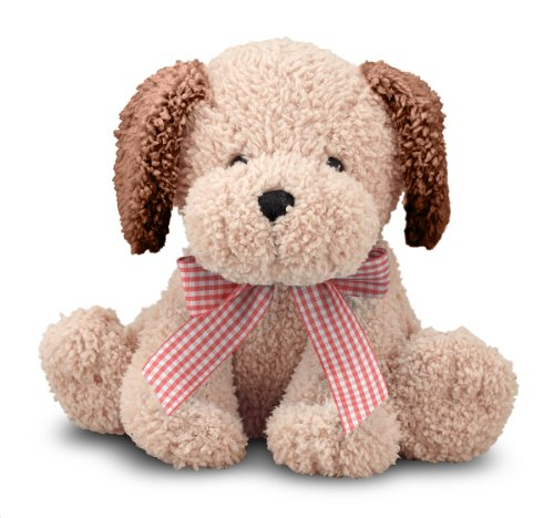 Melissa & Doug Meadow Medley Golden Puppy - Stuffed Animal Dog With Barking Sound Effect