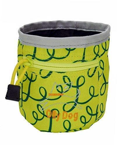 Ollydog Treats (OllyDog Treat Bag Plus, Medium, Limeade Loops)