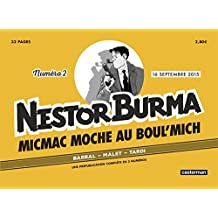 JOURNAL NESTOR BURMA N.02 : MICMAC MOCHE AU BOUL'MICH