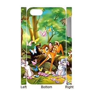 iphone4 Phone Case White Bambi DTW8066446