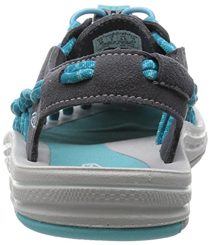 KEEN Damen Uneek 8mm Rock Sandale Magnet / Capri