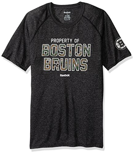 Nhl Boston Bruins Adult Men Division Property S Supremium Tee Medium Black