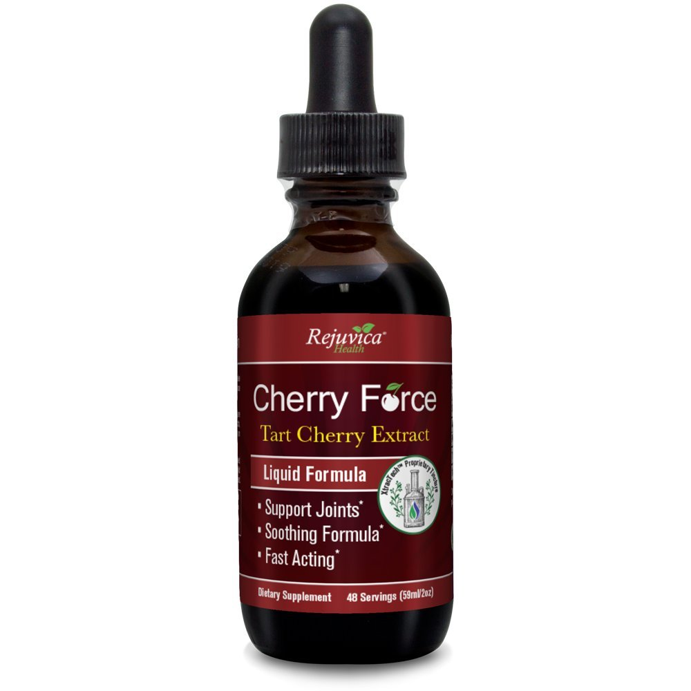 Cherry Force – Real Tart Cherry All-Natural Liquid Solution for 2X Absorption Uric Acid Inflammation Support