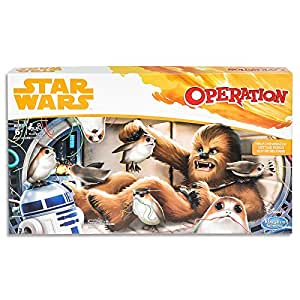 Operation - Chewbacca Edition - Kids Board Games - Star Wars Han Solo - Kids Toys - Ages 6+
