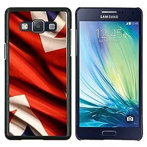 LECELL--Funda protectora / Cubierta / Piel For Samsung Galaxy A5 A5000 -- Bandera del Reino Unido --