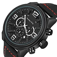 Waterproof Military Watches Sport Watches Casual Quartz Analog Watches for Men