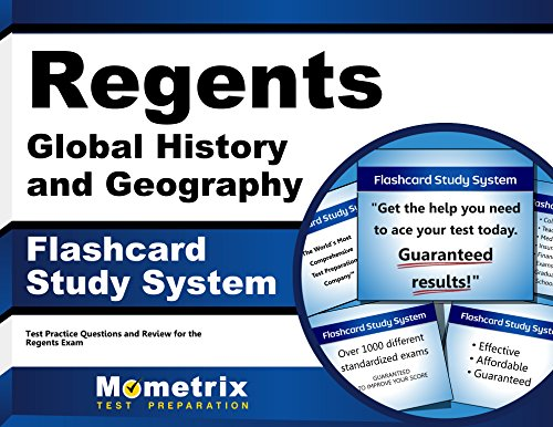 Regents Global History and Geography Exam Flashcard Study System: Regents Test Practice Questions & Review for the Regents (Cards)