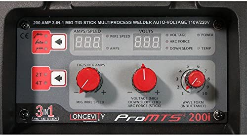 Promts 252i 250-Amp Multi-Process Welder with PFC Auto Voltage Technology
