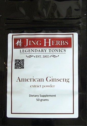 - Jing Herbs American Ginseng Extract Powder 50 Grams