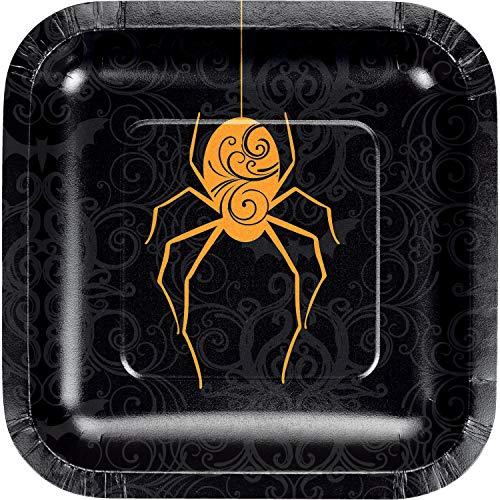 Halloween Spider Dessert Plates, 24 ct ()