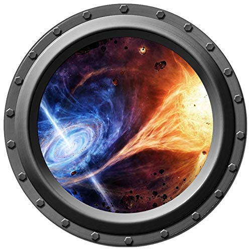 - Fire Feeds the Void Porthole Decal - 12