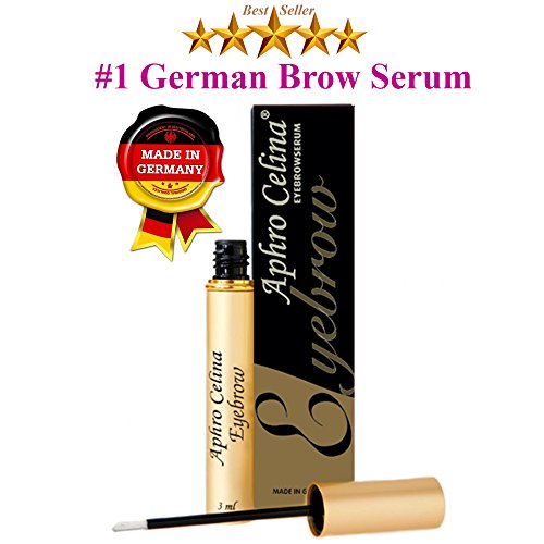 Eyebrow Growth Serum Brow - #1 German Advanced Technology Brow Growth Guaranteed Blended Formula Nutrient Strengthens At The Roots Rich Herbal Extracts Longer Thicker Lashes and Brows Lash Growth