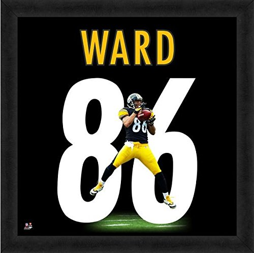 "Hines Ward Pittsburgh Steelers UniFrame Photo (Size: 20"" x 20"") Framed"