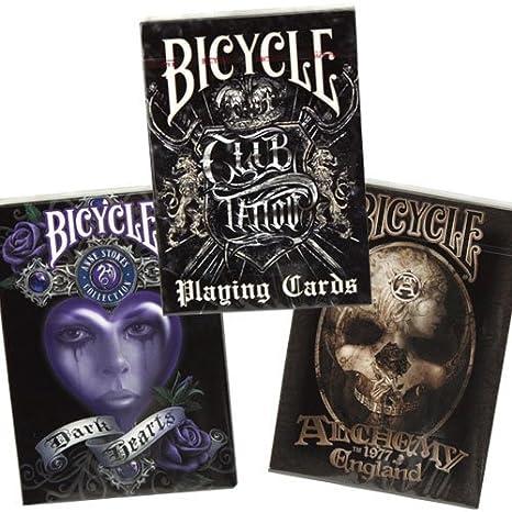 Bicicletas Anne Stokes II, Alquimia II & Club Tattoo 3-mazo combo ...