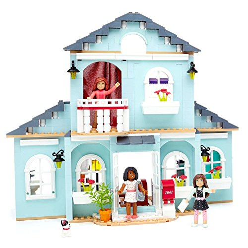 Buildable 2-In-1 Two-Story Dollhouses Play Sets by Mega Bl0ks