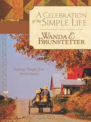 book cover of A Celebration of the Simple Life